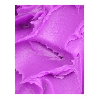 Purple Frosting Letterhead