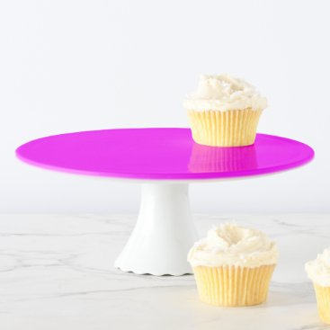 Professional Business purple fuchsia Cake Stand