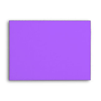 PURPLE FUNKY FLOWERS ENVELOPE