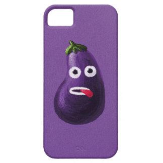 Purple Funny Cartoon Eggplant iPhone SE/5/5s Case