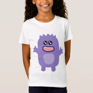 Purple funny monster animated creature T-Shirt