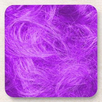 Purple Fur Drink Coasters
