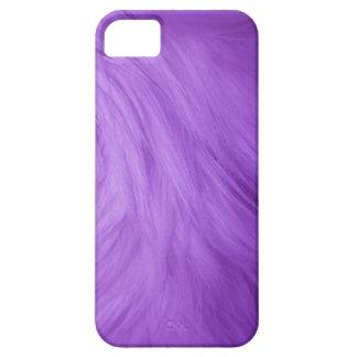 Purple Fur feathery image, iPhone 5 case