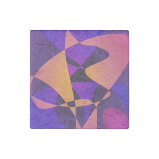 Purple Furnace Stone Magnet
