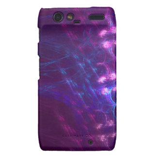Purple Fury abstract case for RAZR Motorola Droid RAZR Case