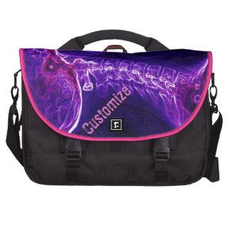 Purple/Fushia C-spine Commuter Laptop Bag