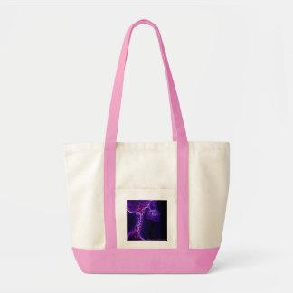 Purple/Fushia C-spine X-ray bag
