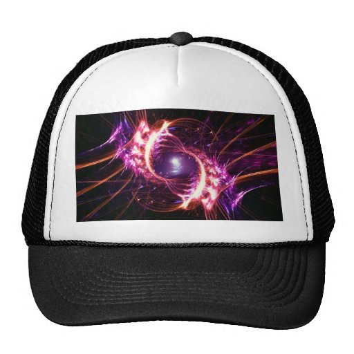 purple fusion trucker hat