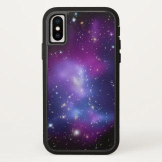 Purple Galaxies Space Photo iPhone X Case