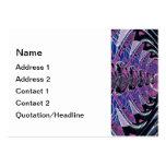 Purple Galaxy Business Cards