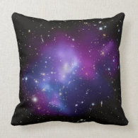 Purple Galaxy Cluster American MoJo Pillows