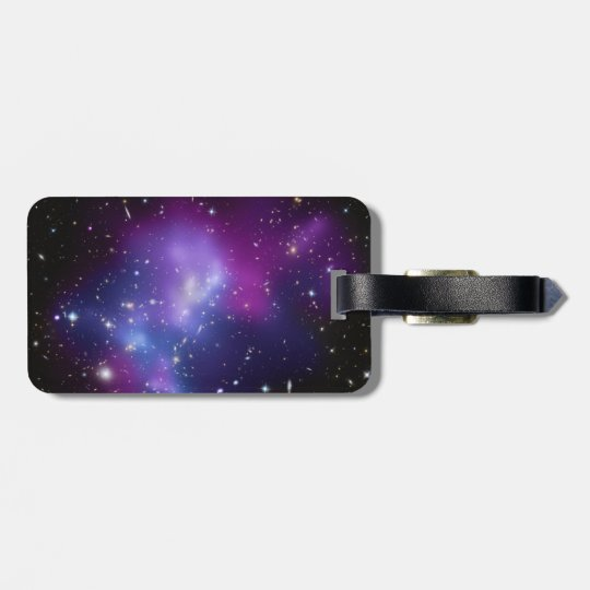Purple Galaxy Cluster Bag Tag