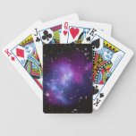 Purple Galaxy Cluster Bicycle® Playing Cards
