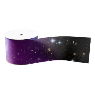 Purple Galaxy Cluster Blank Ribbon