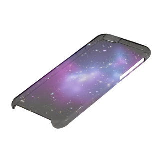 Purple Galaxy Cluster Clear iPhone 6/6S Case