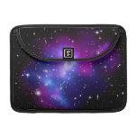 Purple  Galaxy Cluster J0717 Space MacBook Pro Sleeve