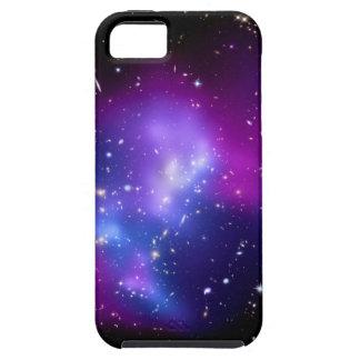 Purple Galaxy Cluster MACS J0717 (Hubble) iPhone 5 Cases