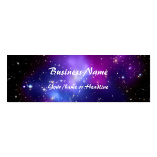 Purple Galaxy Cluster MACS J0717 Space Business Cards