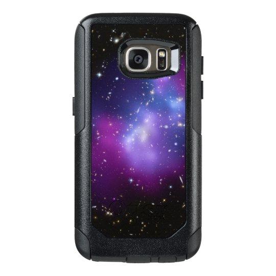 sale retailer 7650b 80a0c Purple Galaxy Cluster OtterBox Samsung Galaxy S7 Case