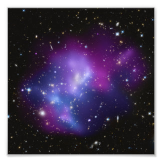 Purple Galaxy Cluster Photo