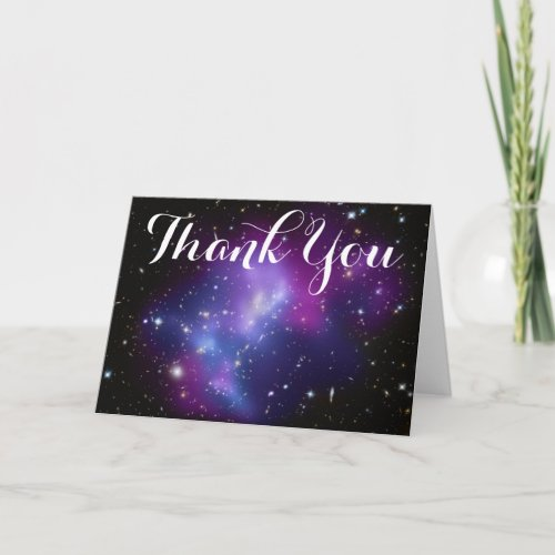 Purple Galaxy Cluster Thank You