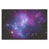 Purple Galaxy Cluster Tissue Paper