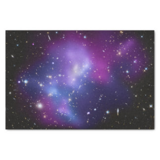 Purple Galaxy Cluster Tissue Paper