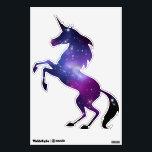 "Purple Galaxy Cluster Unicorn Wall Decal<br><div class=""desc"">Unicorn shape ...  Galaxy Cluster MACS J0717 thanks to NASA and Hubble program.</div>"