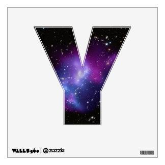 Purple Galaxy Cluster Wall Sticker