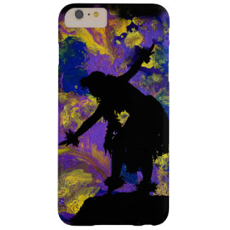 Purple Galaxy Hula Dancer Barely There iPhone 6 Plus Case
