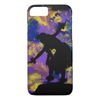Purple Galaxy Hula Dancer iPhone 7 Case