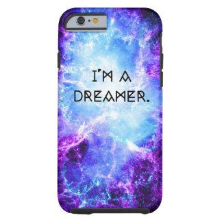 Purple Galaxy I'm A Dreamer Tough iPhone 6 Case