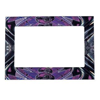 Purple Galaxy Magnetic Frames