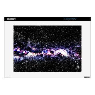 Purple Galaxy Skin For Laptop