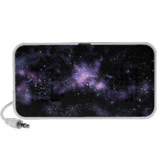 Purple Galaxy Speakers