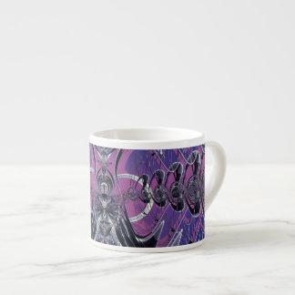 Purple Galaxy Espresso Mugs