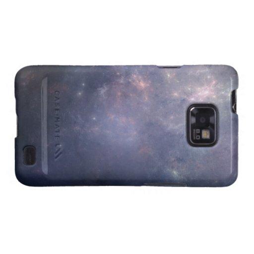 Purple Galaxy with Stars Samsung Galaxy SII Covers