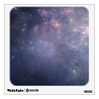 Purple Galaxy with Stars Wall Graphics
