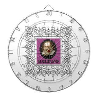 purple galileo dart board