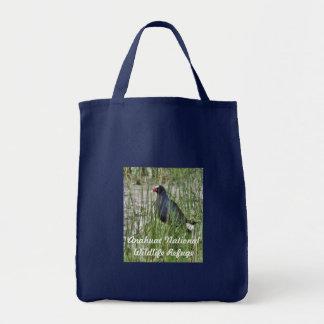 Purple Gallinule Canvas Bag
