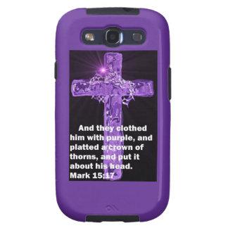 Purple Garment Galaxy S3 Cover