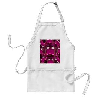 Purple Garnet Birthstone Gifts by Sharles Adult Apron