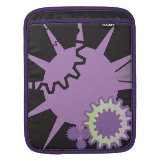 Purple Gears Sleeves For iPads