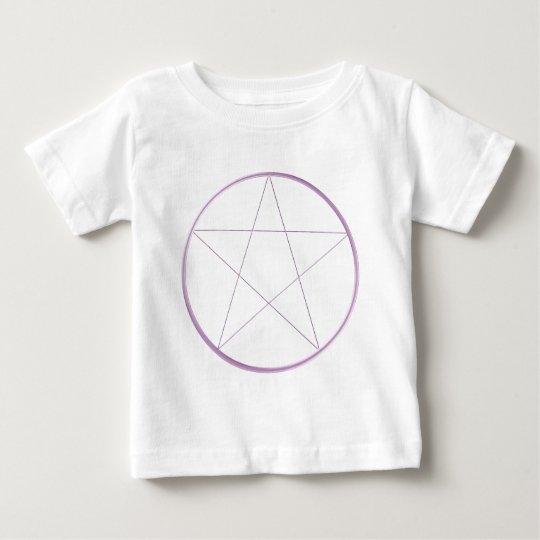 Purple Gel Pentacle Baby T-Shirt