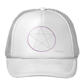 Purple Gel Pentacle Trucker Hat