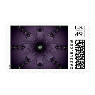 Purple Gems Postage Stamps