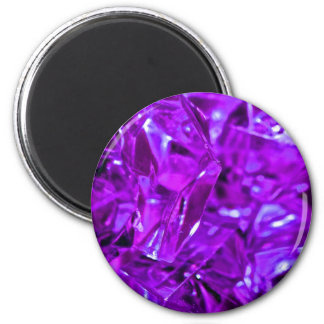 Purple gemstone crystal amethyst magnet