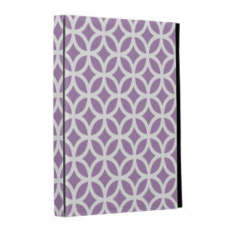Purple Geometric iPad Case