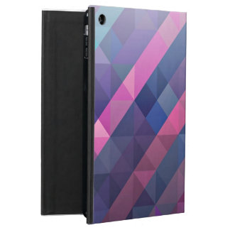Purple Geometric Pattern iPad Air Covers