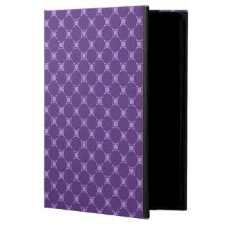 Purple Geometric Square, Circle Pattern Powis iPad Air 2 Case